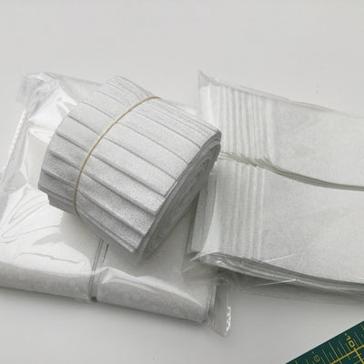 white on white cotton fabric jelly rolls for sashing