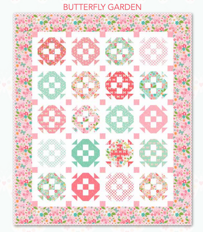 Free Garden Girl Quilt Pattern from Riley Blake