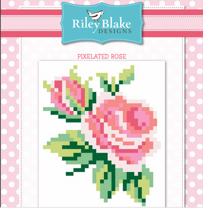 Free Pixelated Rose Quilt Pattern From Riley Blake