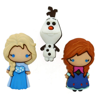 Dress It Up Buttons Frozen