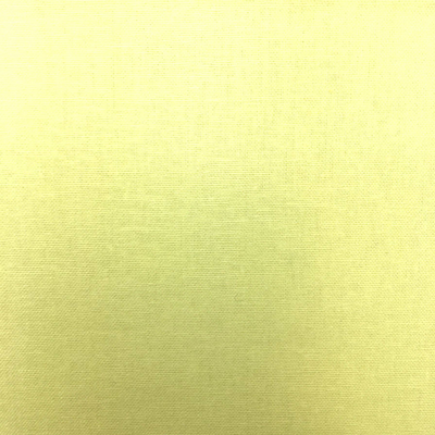 Lemon Homespun  Plain Cotton Fabric