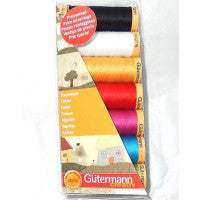 Gutermann Sew All Thread Brights 100% cotton