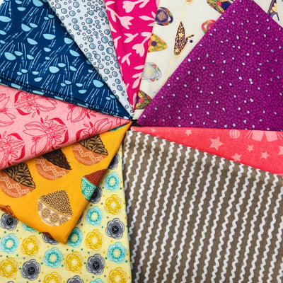 Random Bundle of 10 Fat Quarters