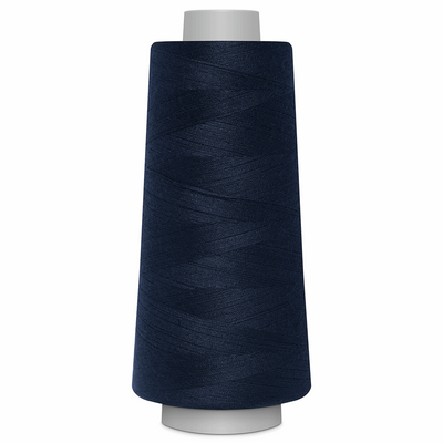 Navy Toldi Lock Overlocking Thread