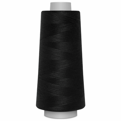Black Toldi Lock Overlocking Thread