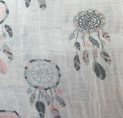 Dream Catcher Printed Cotton Muslin