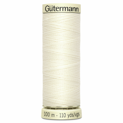 Colour 1 Gutermann Sew All Thread