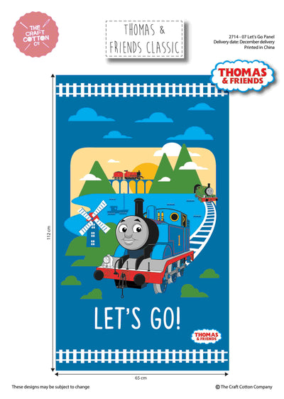 Thomas the Tank Engine, Let's Go Panel
