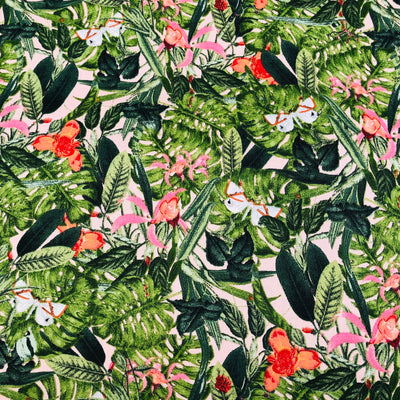 Jungle Butterfly cotton print