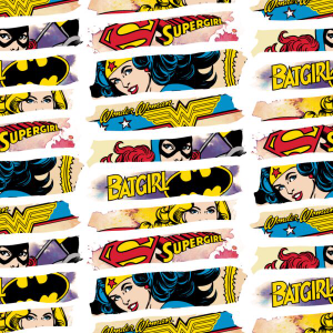 Batgirl, Wonder Woman Licensed Fabrics