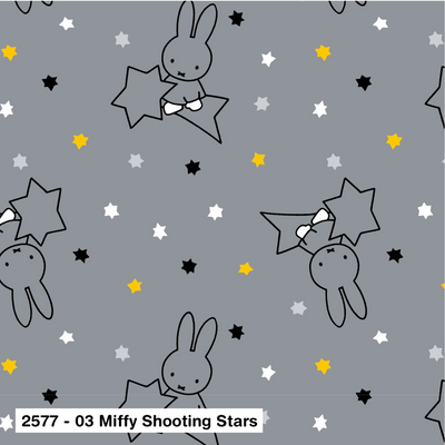 Miffy  Shooting Stars cotton fabric