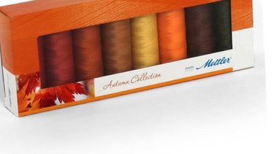 Mettler  8 Colours Autumn Shades Thread Gift Pack