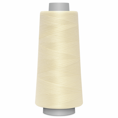 Cream Toldi Lock Overlocking Thread