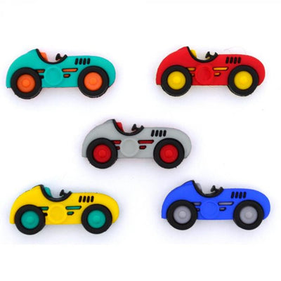 Dress It Up Buttons Street Racers