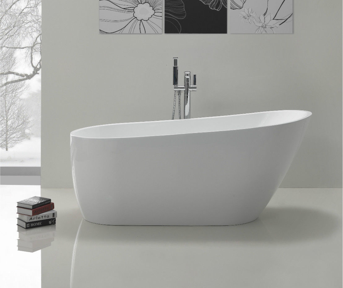 appearance faucet a tub free bath freestanding modern mounted smooth seamless bathroom coley and with l pairs standing features filler stunning wall of acrylic in this or well the