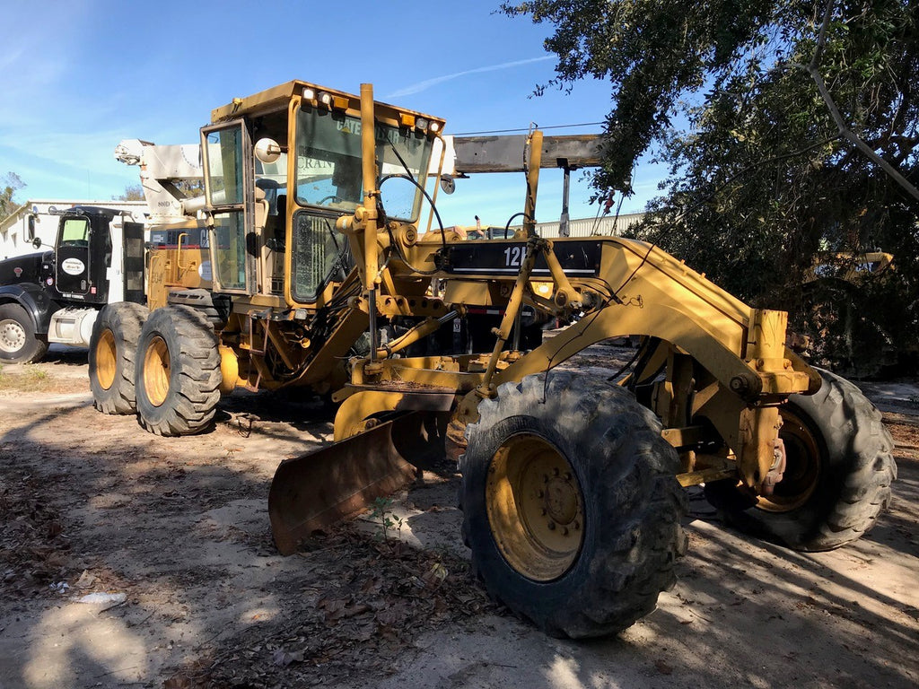 2007 Cat 12H For Sale, Scarifier, 14' Moldboard, 17.5-25 Tires, Scarifier