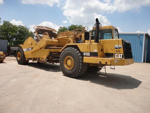 2006 Caterpillar | 615C Motor Scraper | Caterpillar For Sale