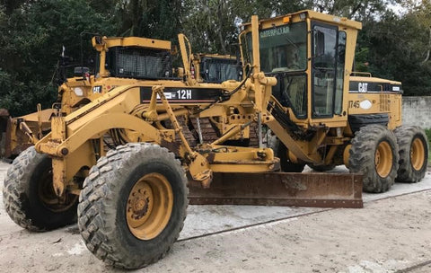 2007 Cat 12H For Sale, Scarifier, 12' Moldboard, 17.5-25 Tires