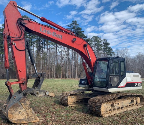 "2007 Link Belt 210X2 Excavator, Pro Link Thumb, 42"" Bucket, For Sale"