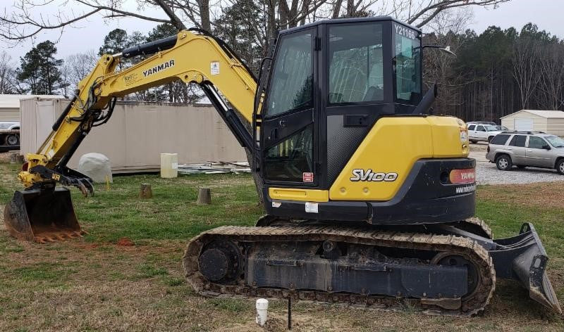 2017 Yanmar | SV100 Excavator | Yanmar For Sale