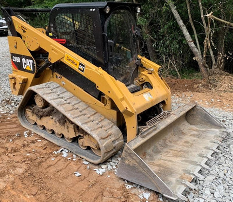 2018 Caterpillar 289D Skid-Steer Loader For Sale
