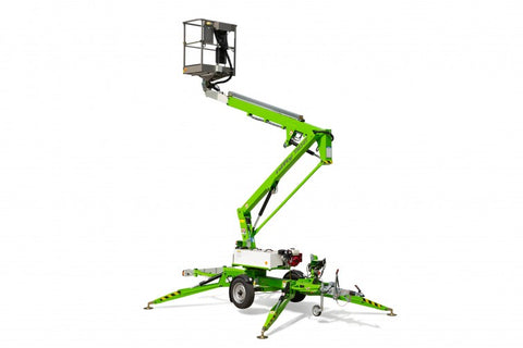 TM34T NiftyLift Tow-Behind Cherry Picker, Bi-Energy (Engine & Battery)
