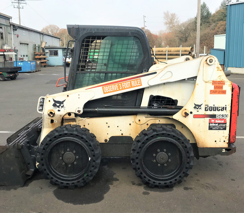 "2016 Bobcat S630 Skid-Steer Loader For Sale, 62"" LoPro Bucket"