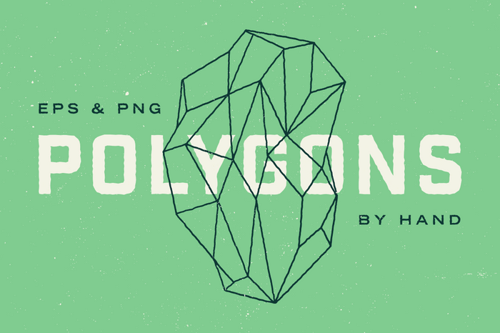 Geometric Polygon Illustrations