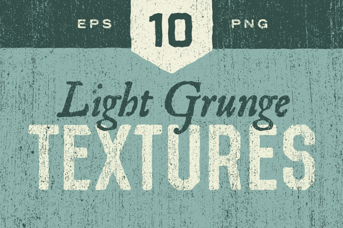 Light grunge textures pack