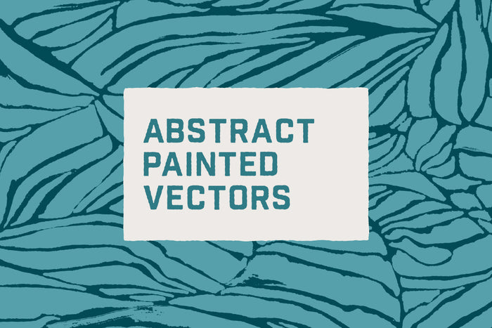 Abstract Painted Textile Backgrounds