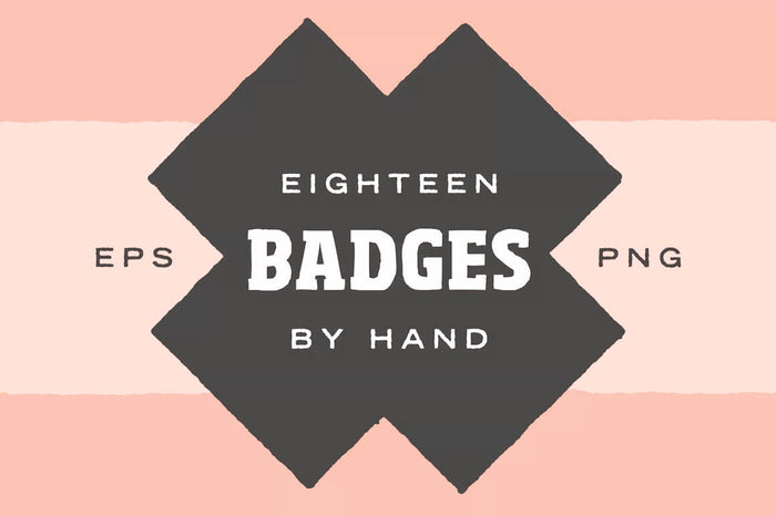 Hand Illustrated Badge Shapes
