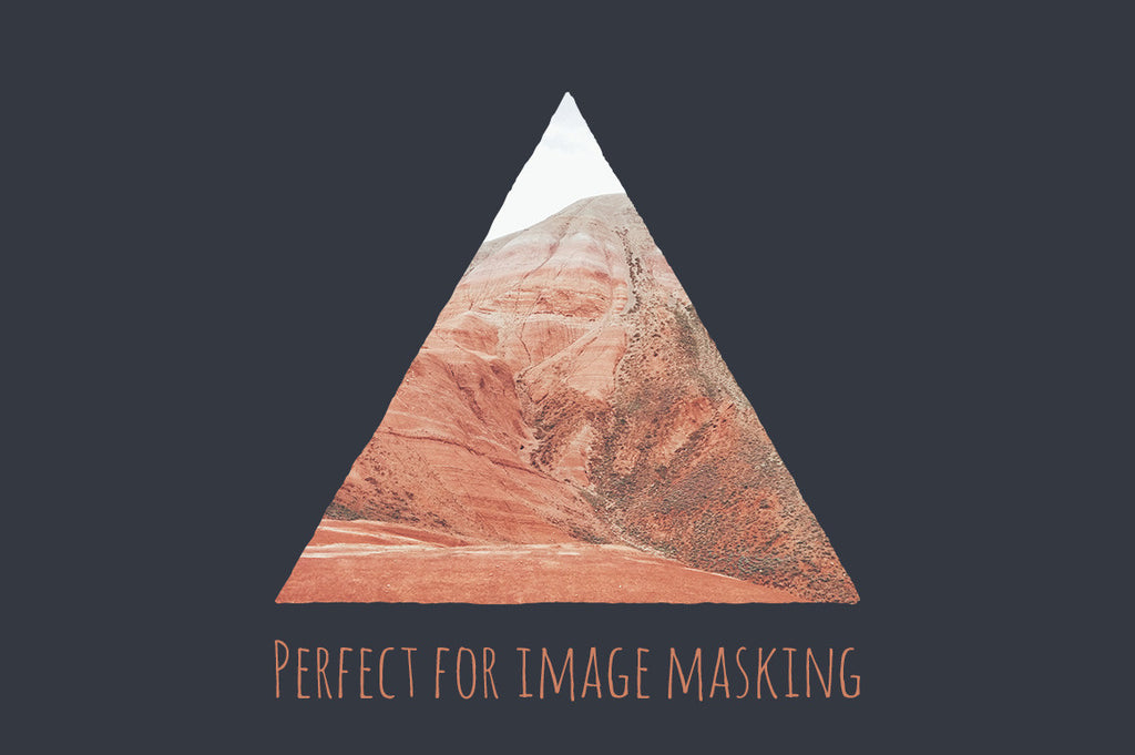 geometric image masks