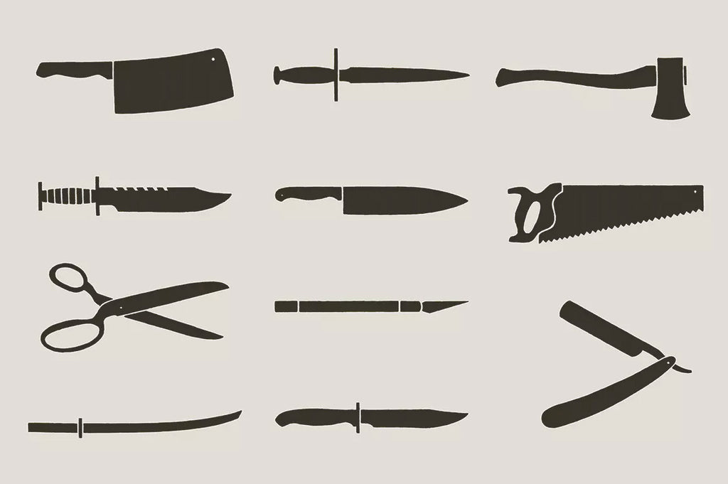 Knives and Blades by Hand