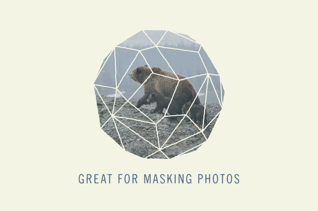 Photoshop polygon mask shape