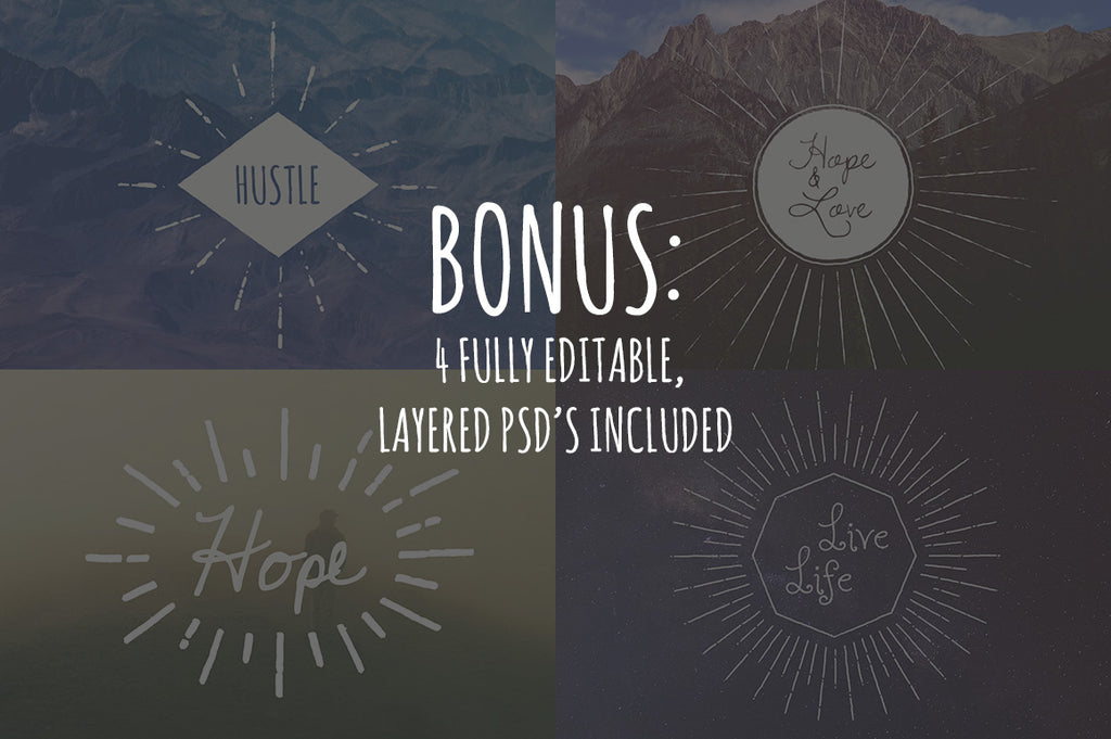 Vector Sunburst Bundle