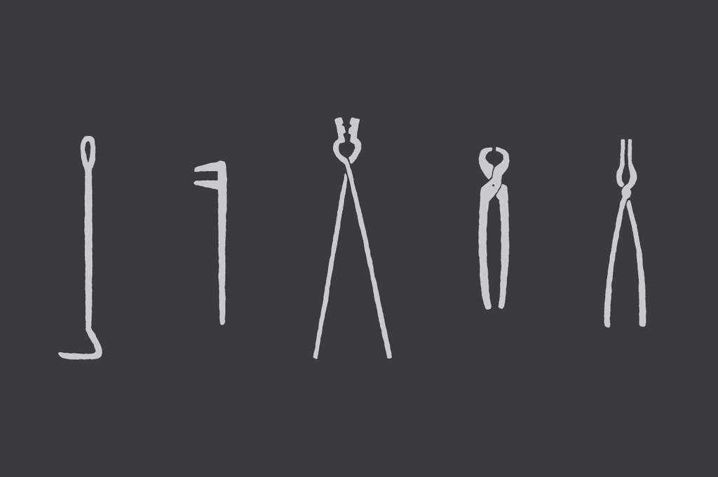 Blacksmith Tools Illustrations
