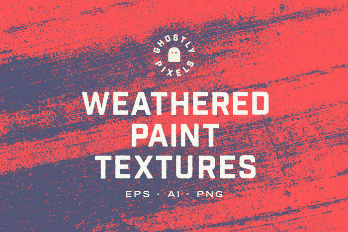 Gritty Weathered Paint Textures