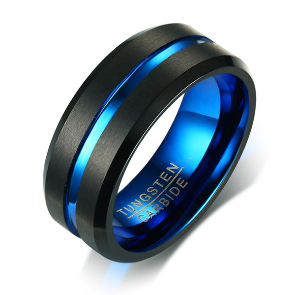 Minimal Totem Tungsten Carbide Rings Collection Page 2