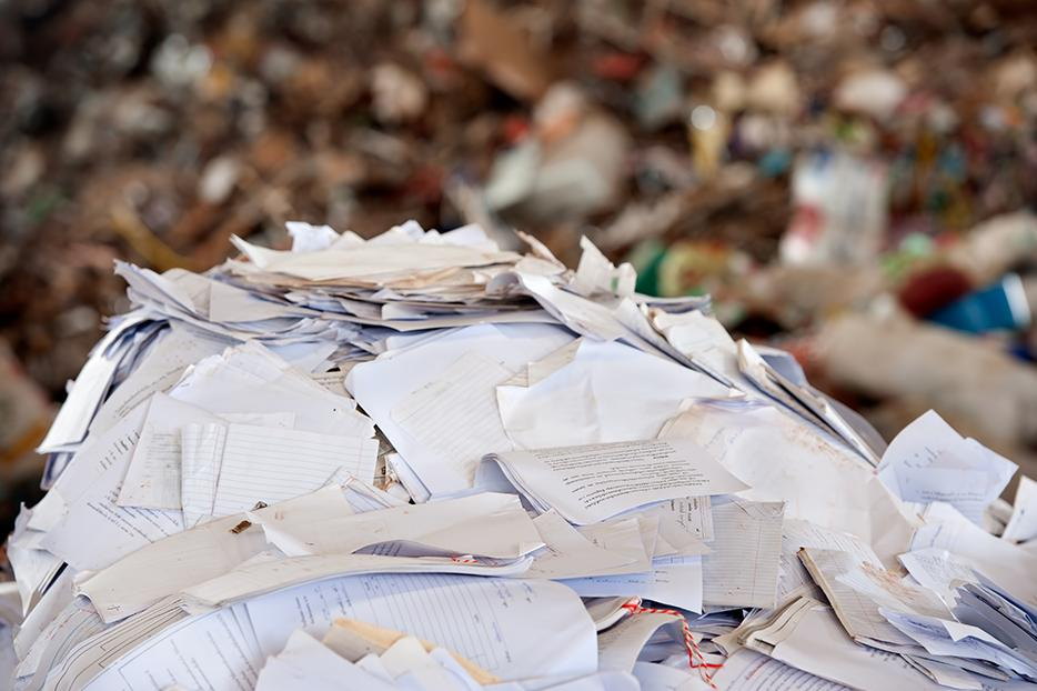 3 easy ways to reduce the amount of paper we use every day