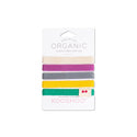 Organic Hair Ties Colorful