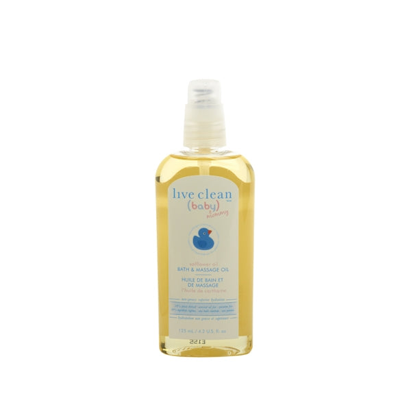 Live Clean - Baby Massage and Bath Oil