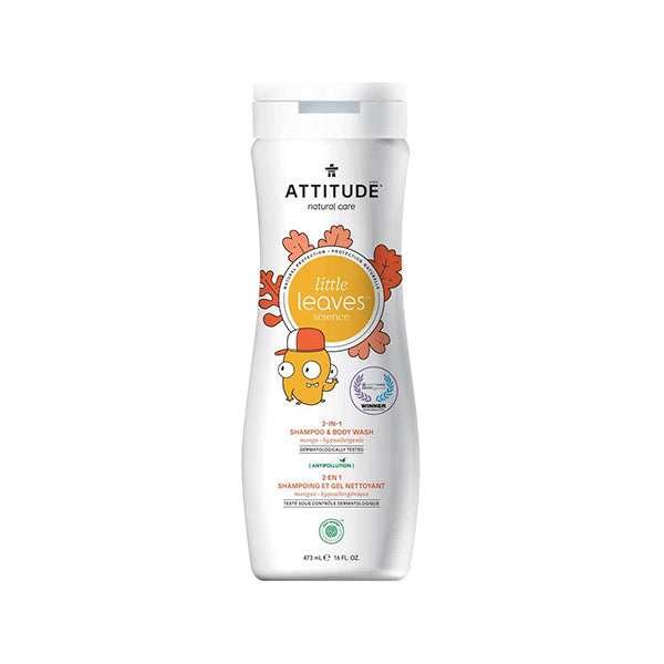 Attitude - Little Leaves 2-in-1 Shampoo & Body Wash Mango
