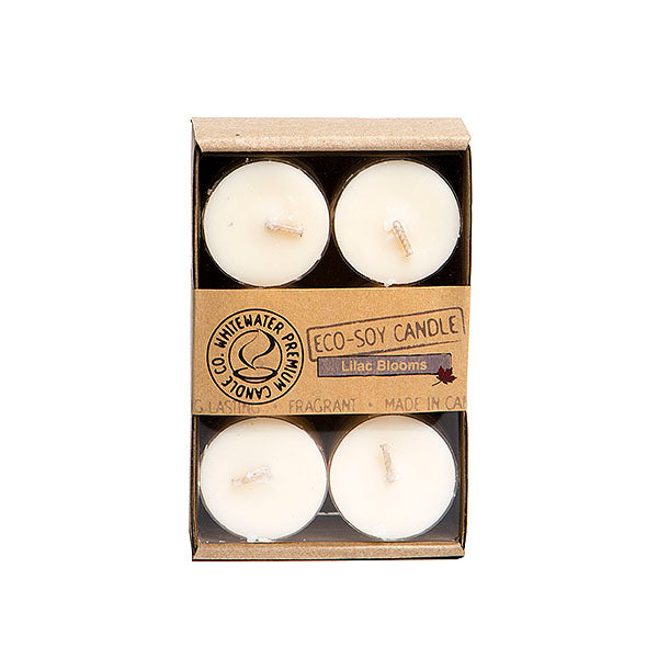 Whitewater Eco Soy Candles - Lilac Blooms Tealights
