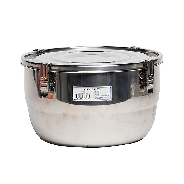 Onyx - Stainless Steel Airtight Food Storage Container 26cm