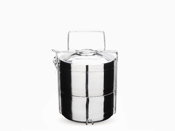 Stainless Steel 2-Layer Tiffin Box