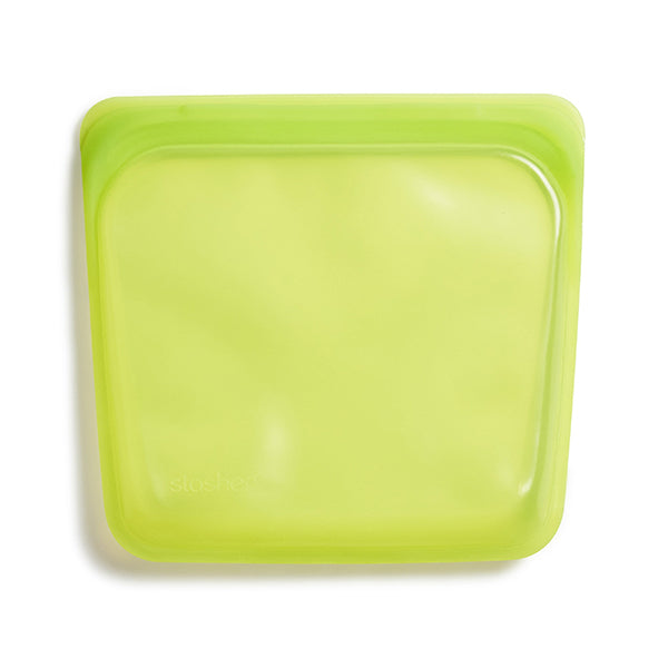 Reusable Silicone Storage Bag Lime