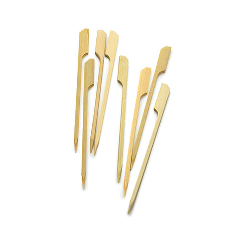 Bamboo Flat/Flag Appetizer Picks 5 3/4""