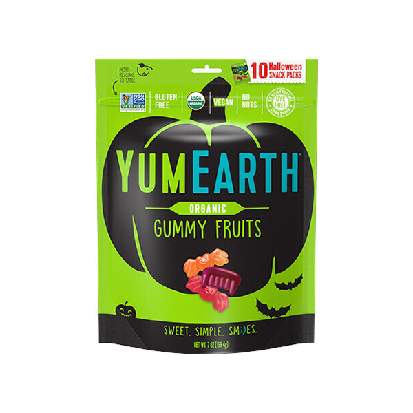 Yum Earth - Halloween Gummy Fruit