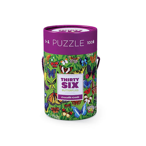 Butterflies 36 Animals Puzzle 100pc