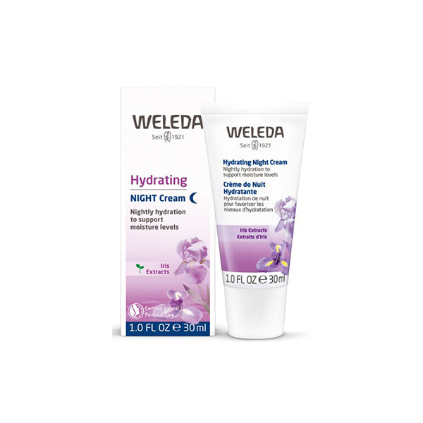 Weleda - Hydrating Night Cream - Iris